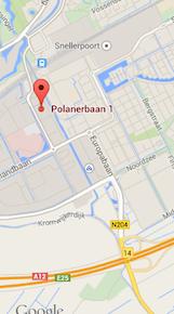 Kaart van polanerbaan-1-3, Woerden